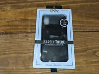 Casemate Barely There IPhone X XS Black Leather Case