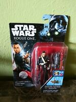 "Star Wars Chirrut Imwe Rogue One Projectile Firing Collectible 3"" Figurine-NEW"