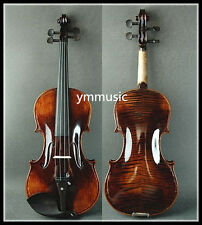 Antique Style - Beautiful Solid 4/4 Hand Made & Varnished Violin / Free Bow&Case