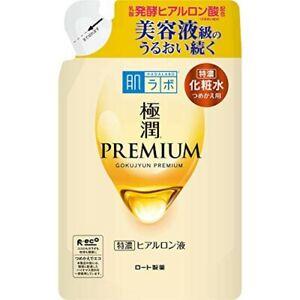 Rohto Hadalabo Hada labo Gokujyun Premium Hyaluronic Lotion 170 mL Refill Japan