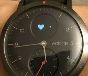 Withings Steel HR Sport Fitness Activity Tracker with 40mm Stainless Steel...