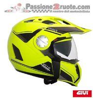 Casco Givi X01 X 01 Tourer giallo fluo nero crossover modulare