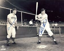 Chicago Cubs JOE GARAGIOLA & RALPH KINER Hall of Fame signed autographed 8x10