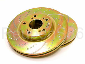 EBC 3GD DRILLED & SLOTTED SPORT BRAKE ROTORS - FRONT GD7005