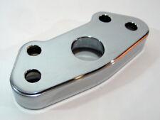 1.0in Springer Handlebar Riser Adapter Kit for Paughco DNA midUSA HARLEY Chrome