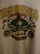 New Orleans Bourbon St/Bienville St. Big Easy T-shirt men's XL