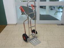 Alu-Sackkarre 200 kg mit PVC-Felgen ROLLENLAGER !!! RLW - Fertigung in Europa!!!
