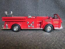 ERTL 1948 American La France Fire Truck 1:30 Diecast Bank Dubuque Iowa Fire Dpt