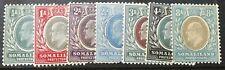BRITISH SOMALILAND KING EDWARD VII 1904 PART SET S.G.32-37 & 39 MINT HINGED VGC