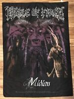 RARE Cradle Of Filth Midian Textile Poster Flag Banner 2000 - Near Perfect