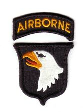 "101st AIRBORNE DIVISION ""Patch & Tab"" (Fabrication Actuelle)"