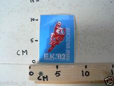 STICKER,DECAL BMX CYCLECROSS EK 1982 BEEK EN DONK