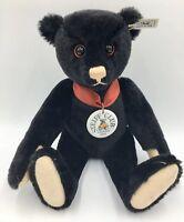 Steiff Club Teddy Bear 1999 Replica of 1912 Black Collectable 35 Limited Edition