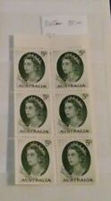 Australia Scott #365a Booklet Pane of Stamps-Mnh*-Nice Condition-No Reserve