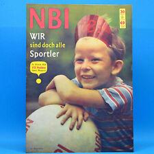 DDR NBI 30 1969 Düren Sportatlas Gdansk Köpenick 52