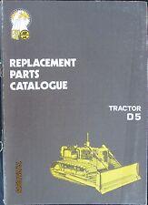 ESP D5 Tractor Crawler Dozer Parts Catalog Italiana Factory Original