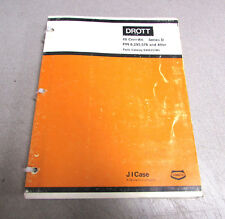 Drott Case 40 Cruz-Air Series D PIN 6292576 Parts Catalog Manual S406257M1 1979