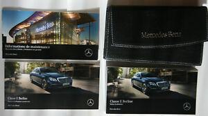 Mercedes Classe E 213 Notice d'utilisation