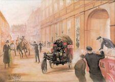 (92518) GB Postcard SWPR15c Avon Mercury Trimobile  - un-posted