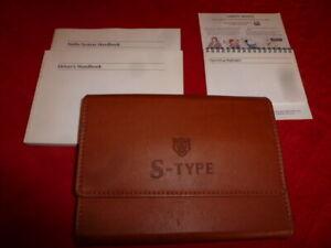Jaguar S TYPE HAND BOOK PACK AND WALLET 2002 CAR