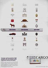 SAUDIA SAUDI ARABIAN AIRLINES AIR CARGO ANYTHING-ANYWHERE-ANYTIME AD