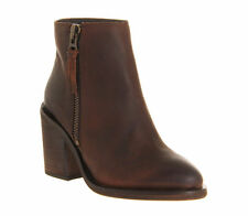 Office Ankle Casual Zip Women's Boots