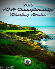 Golf  Poster/PGA 2015 Whistling Straits Golf Course/Golfing Print