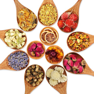 12 Types Dried Flowers Natural Dried Flower Real Dried Flower for DIY Bath Soap