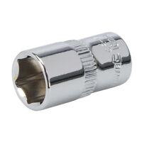 """Silverline 438281 Socket 1/4"""" Drive Metric 10mm"""