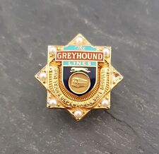 Vintage Greyhound Bus Lines 2-Year Safe Driving Employee Award/Service Pin 10k