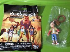 Hello Neighbor Blind Bag Mini Figures Backpack Hanger Clips