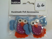 fatto a mano feltro accessori animali x 2 (2)