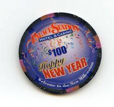 $100.00 Chip.  Palace Station Casino. Millennium Chip. Las Vegas , Nevada.