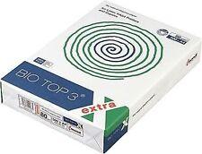 Recycling Kopierpapier BIO TOP 3 extra A4 80g 2.500 Blatt TCF weiß Druckerpapier