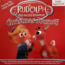 Board Game Rudolph The Red Nosed Reindeer Christmas Journey 8+ Years NEW Sealed