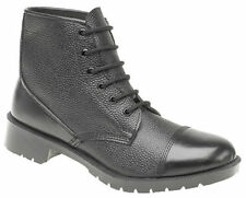 Grafters Men's Combat 100% Leather Boots