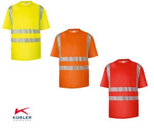 KÜBLER REFLECTIQ T-Shirt PSA 2 PSA HIGH VIS Warnschutz T-Shirt 3 Farben XS-4XL