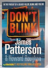 #BV, James Patterson;Howard Roughan DON'T BLINK S/cover Postage Fast & FREE A...