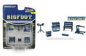Greenlight 1:64 Shop Tool Accessories Series 2 - Bigfoot Monster Truck