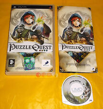 PUZZLE QUEST CHALLENGE OF THE WARLORDS Psp Italiano 1ª Edizione ○○ COMPLETO - AT