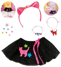 Zapf Creation Baby Born Boutique Tutu Set Gr. 43 cm (Schwarz)