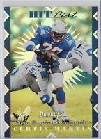 1996 Donruss Curtis Martin Hit List Insert SP No. 10 /10000