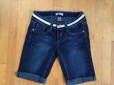 Bongo Jean Shorts  Dark Wash  Girls Size 5