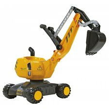 Rolly Toys  Bagger Kinderbagger Sandbagger Sitzbagger gelb