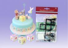 Patchwork Cutters NURSERY BUILDING BLOCK - Cake Decorating Embosser Cutter