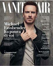 Vanity Fair Magazine Italia Michael Fassbender NEW