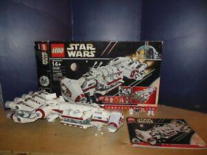 LEGO STAR WARS TANTIVE IV 10198 100% COMPLETE