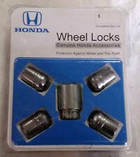 Genuine OEM Honda 08W42-SNA-100 Wheel Locks Anti-Theft Accord Civic CRV Odyssey