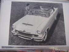 1954 MERCURY SUN VALLEY   11 X 17  PHOTO /  PICTURE