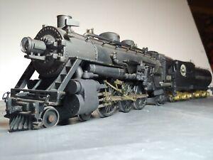 Vintage O Scale ScaleCraft SP 2rail Brass / Bronze Pacific Steam Engine 1940-1